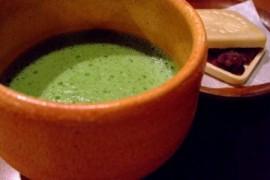 抹茶と最中